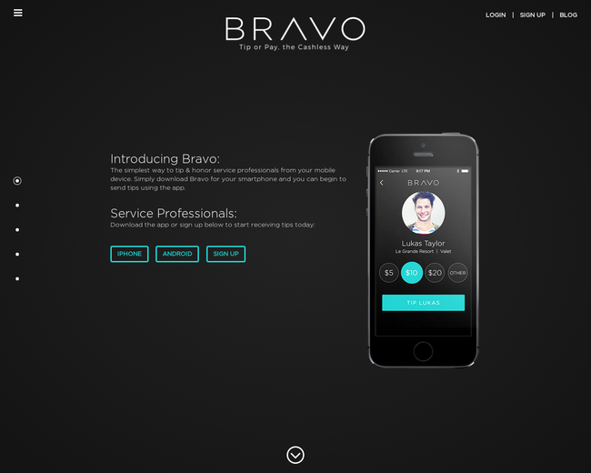 Bravo - tipping made easy