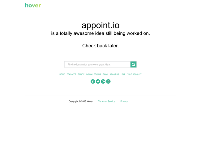 appoint.io