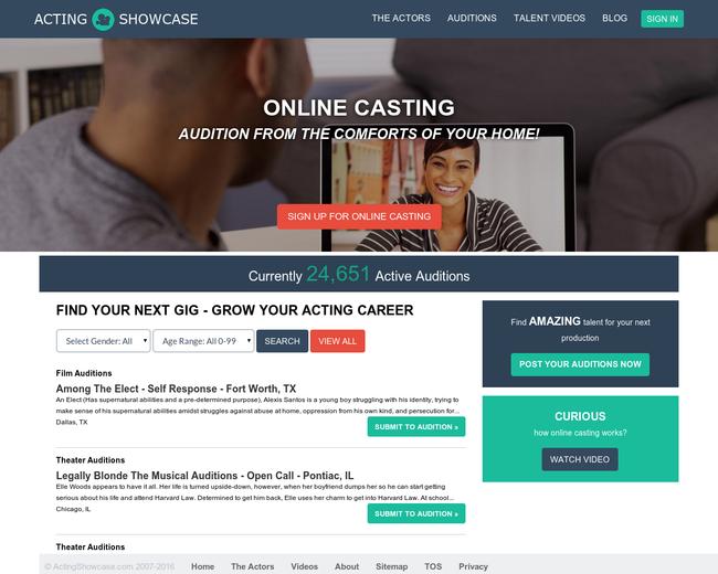ActingShowcase.com