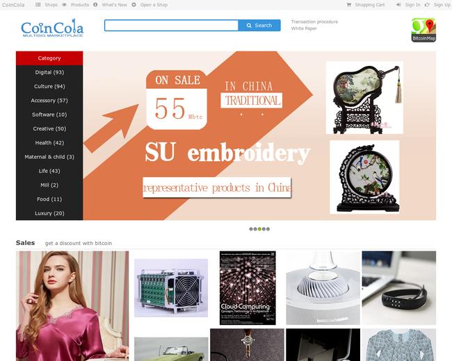 coincola - the bitcoin marketplace.