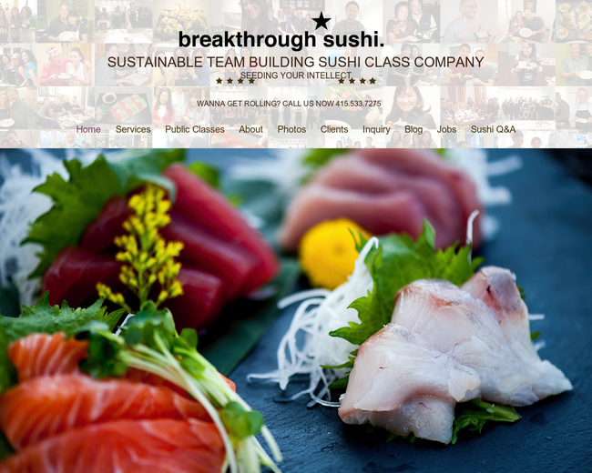 Breakthrough Sushi