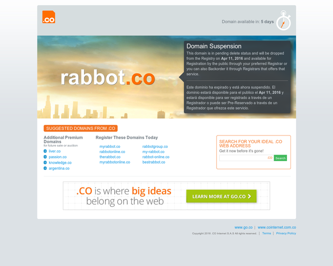 Rabbot Holdings