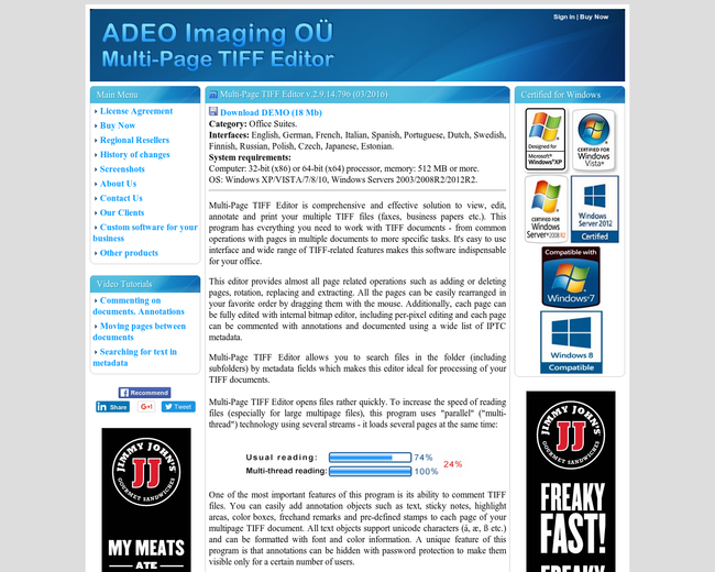 ADEO Imaging OU