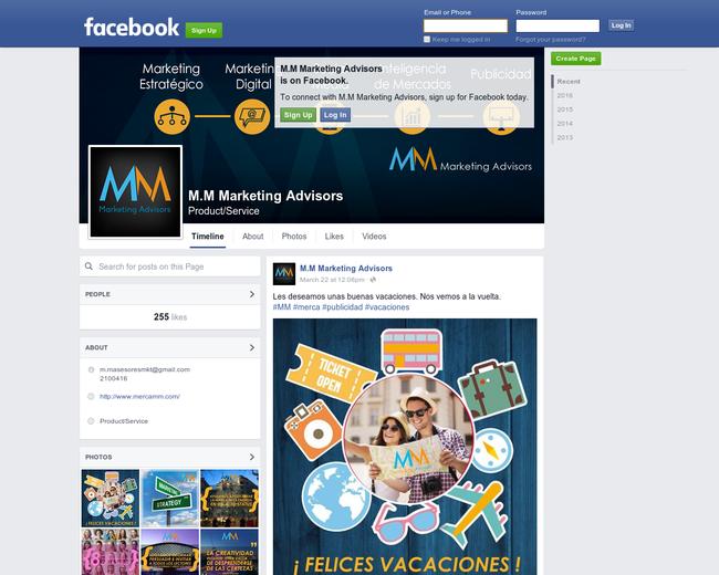 M.M Marketing Advisors