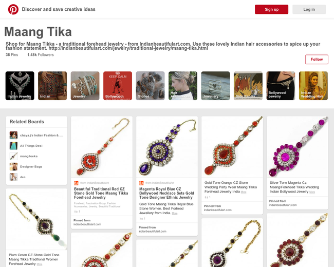 Maang Tika Jewelry