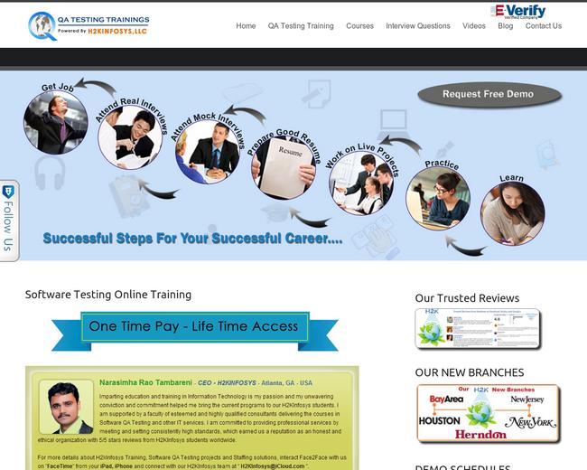 QA Testing Trainings