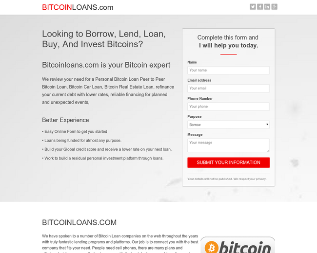BitcoinLoans.com
