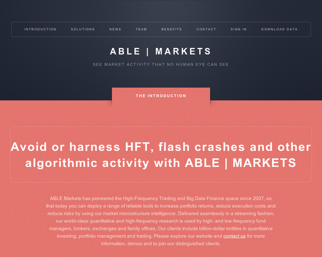 Able Markets