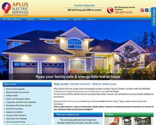 Aplus-electricservices
