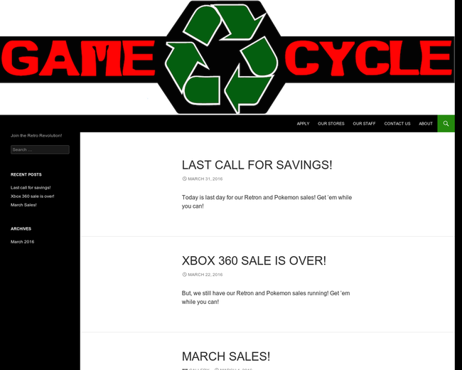 Game Cycle