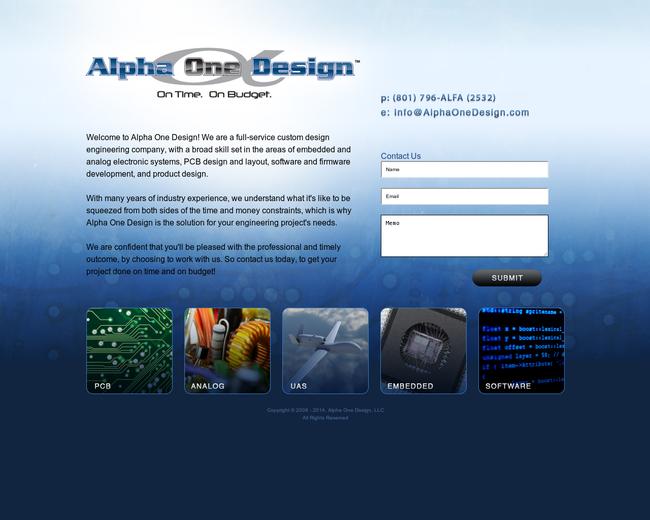 Alpha One Design