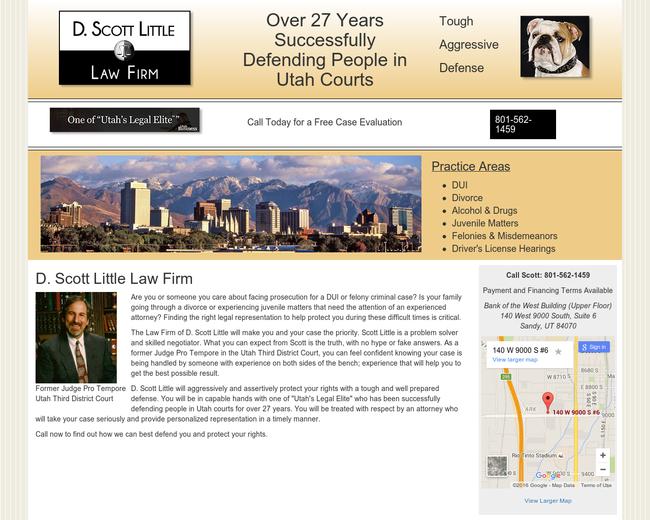 D Scott Little Law Firm
