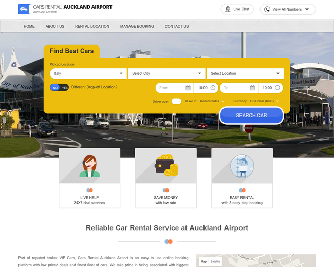Cars Rental Auckland Airport