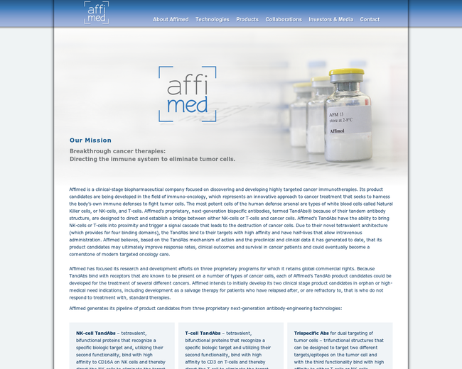Affimed Therapeutics