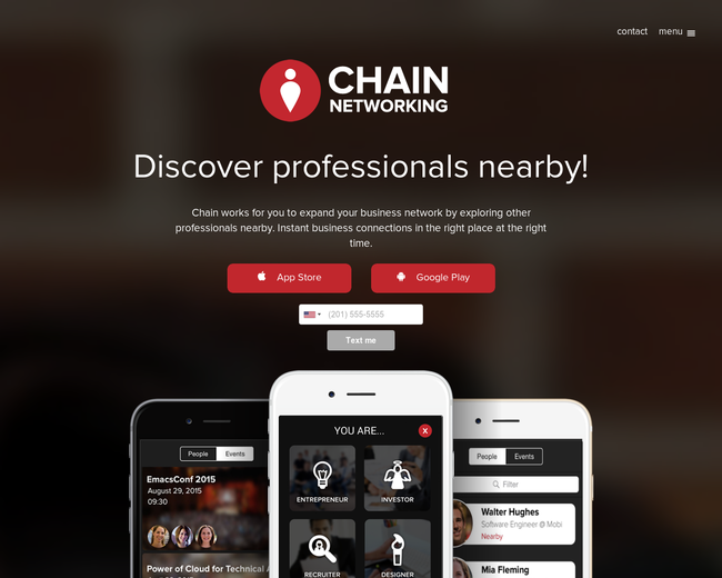 Chain Networking