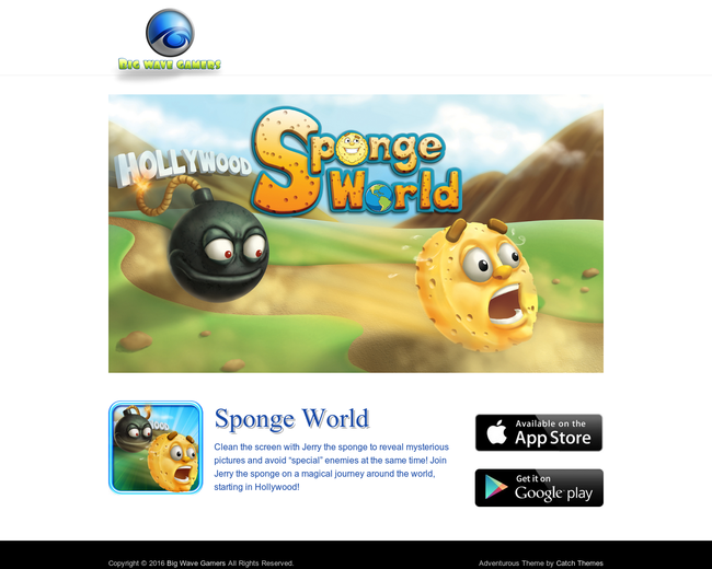 Big Wave Gamers - Sponge World