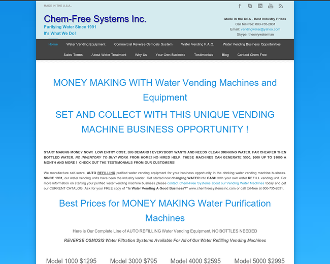 Chemfree Systems