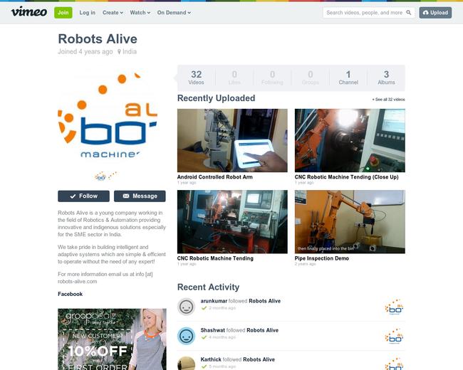 Robots Alive - Simplified Robotics