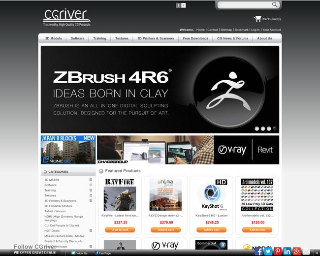 CG World, Inc. (CGriver.com)