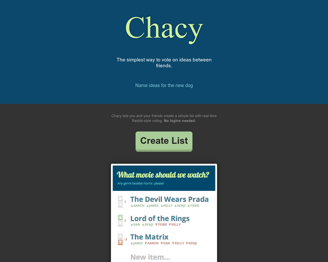 Chacy