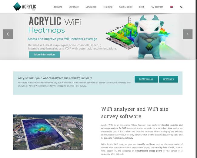 Acrylic Wifi Heatmaps