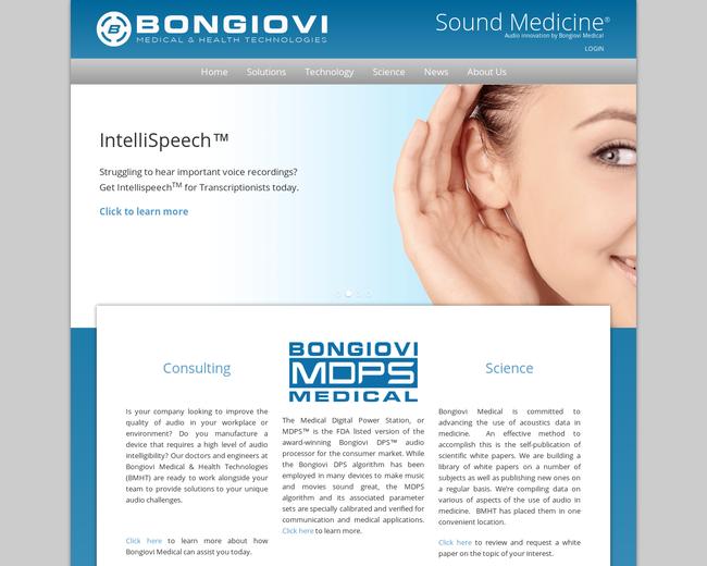 Bongiovi Medical & Health Technologies