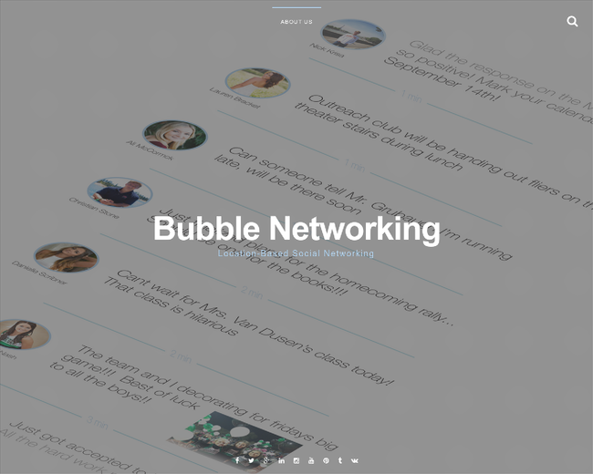 Bubble Networking