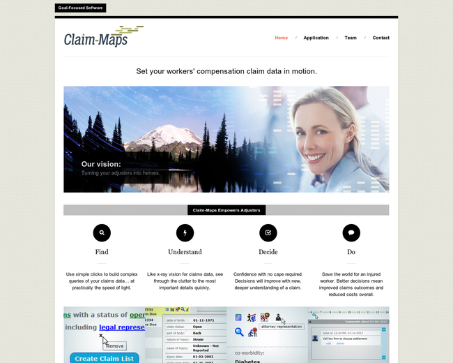 Claim Maps