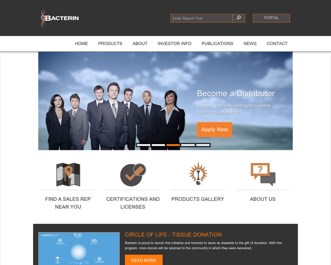 Bacterin International Holdings
