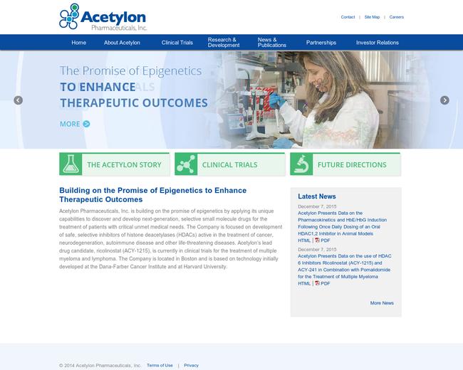 Acetylon Pharmaceuticals