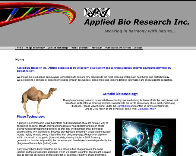 Applied Bioresearch