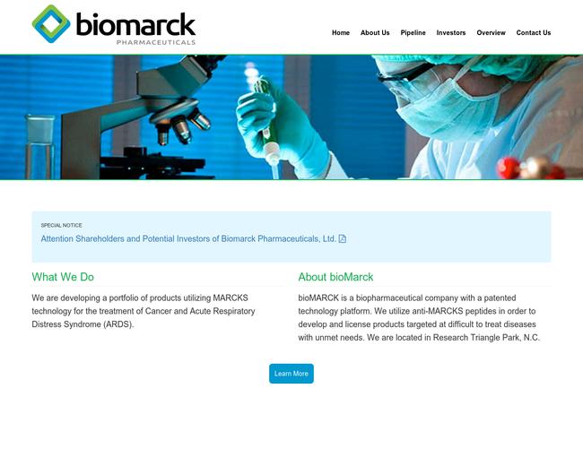 BioMarck Pharmaceuticals