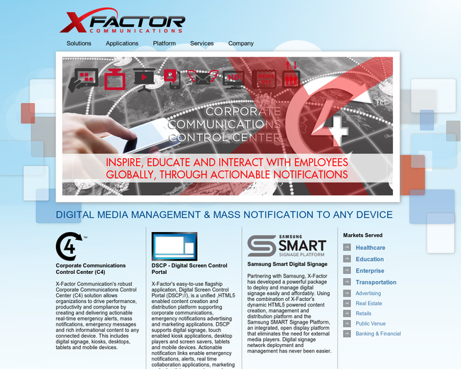 X-Factor Communications Holdings