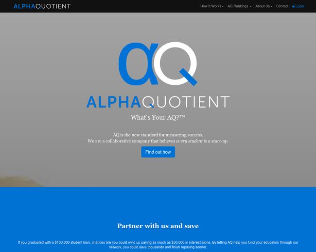 Alpha Quotient
