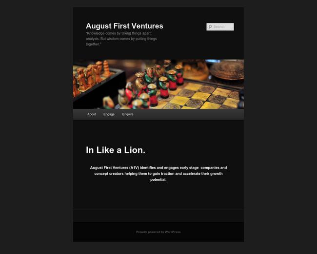 August First Ventures