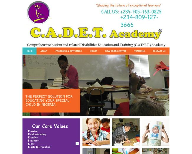 The C.A.D.E.T. Academy