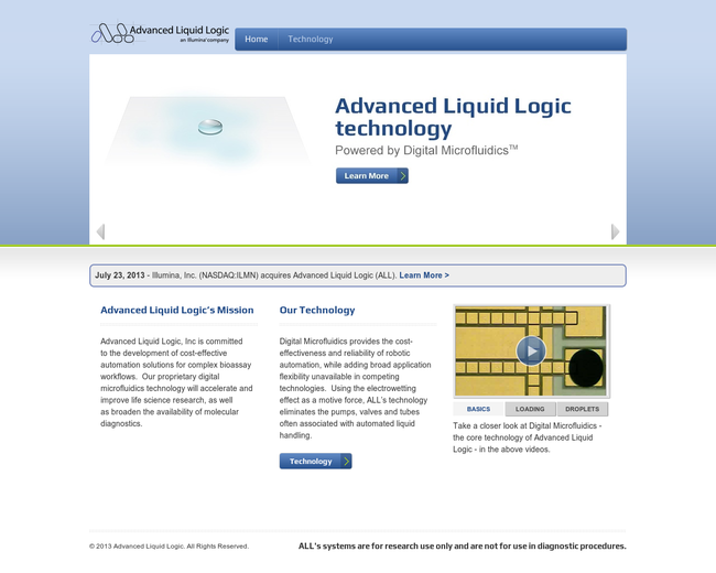 Advanced Liquid Logic