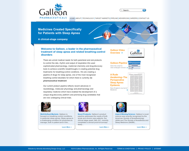 Galleon Pharmaceuticals