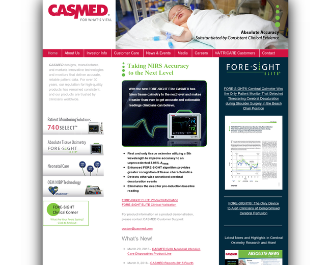 CAS Medical Systems