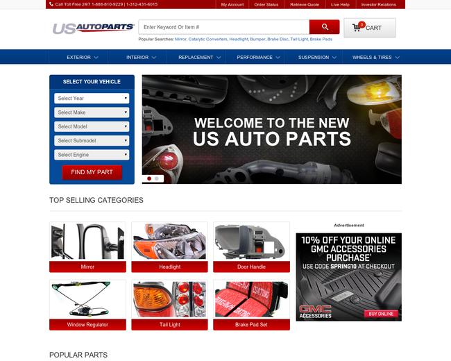 U.S. Auto Parts Network
