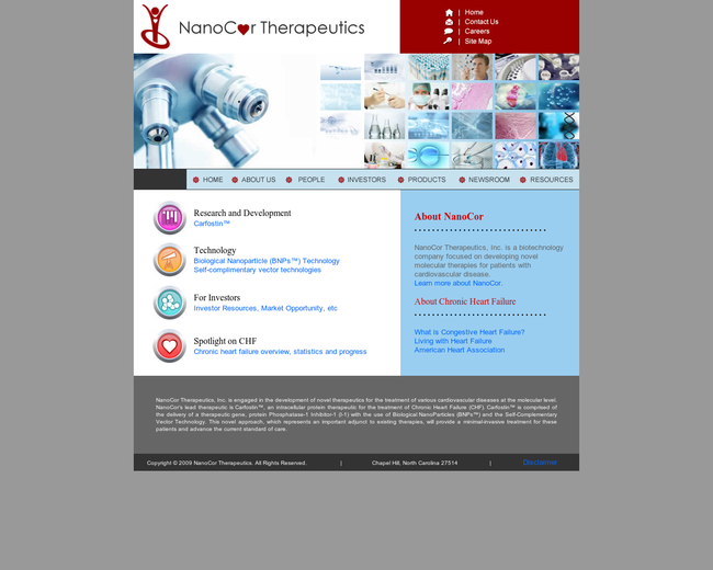 NanoCor Therapeutics