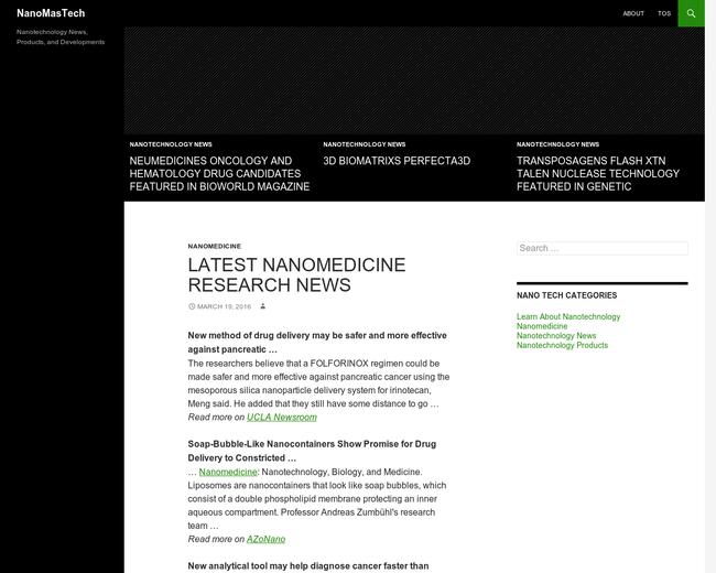 NanoMas Technologies