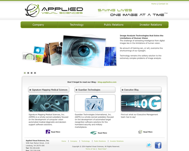 Applied Visual Sciences
