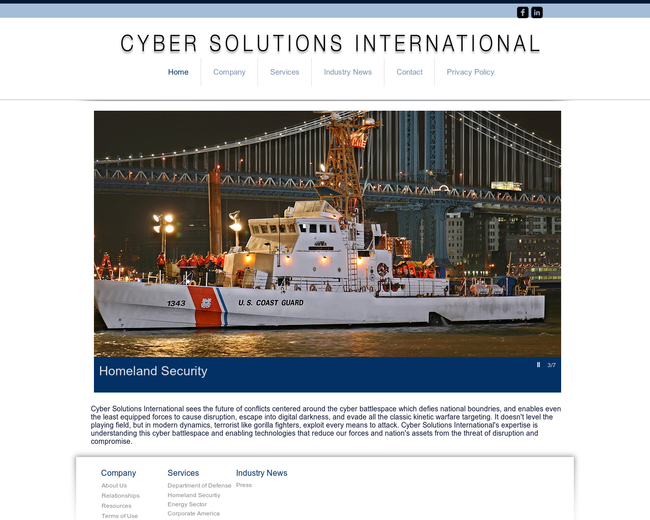 Cyber Solutions International