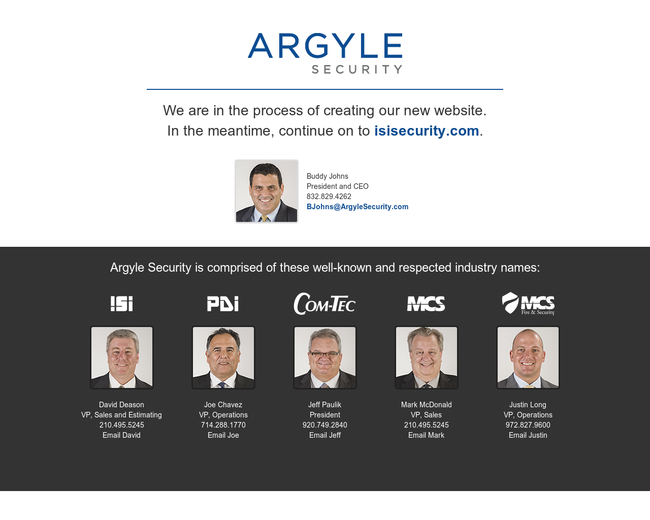 Argyle Security