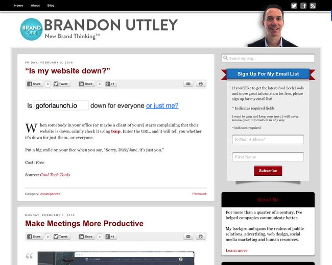 Brandon Uttley Consulting