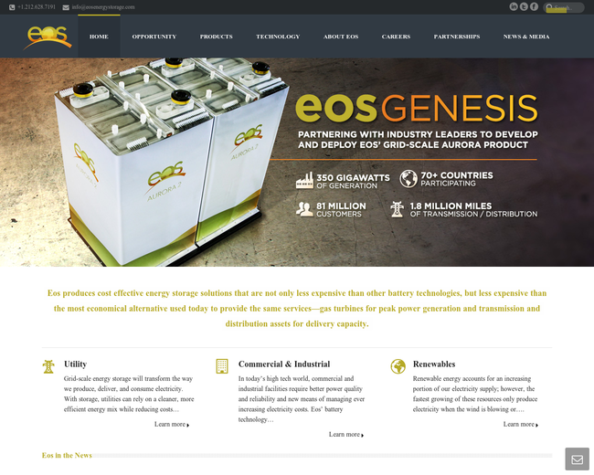 Search results for category energy storage on iterate studio eos energy storage fandeluxe Gallery