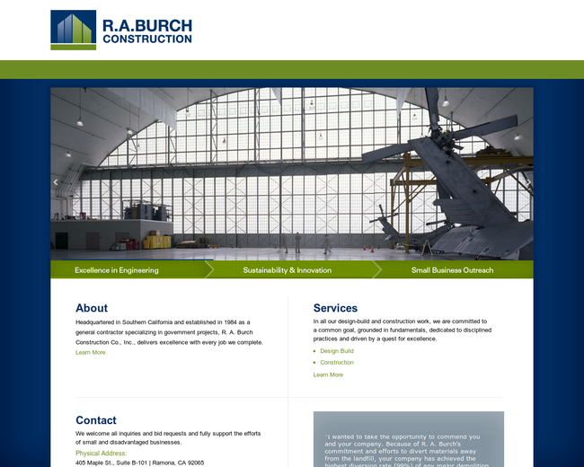 R.A. Burch Construction