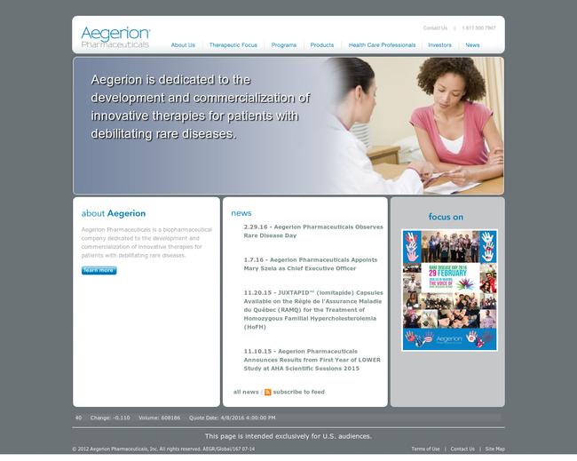Aegerion Pharmaceuticals