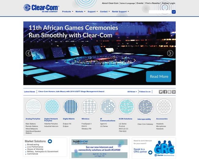 Clear-Com Communications